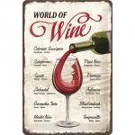 Cartello World of wine