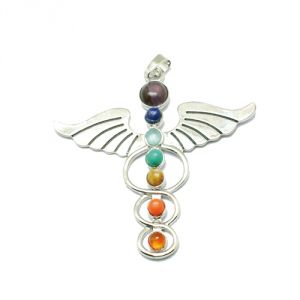 Pendente chakra caduceo