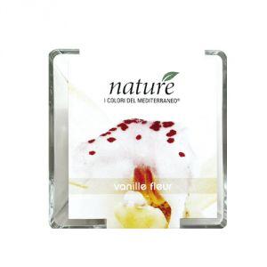 Candela profumata in vasetto di vetro - Fiori di vaniglia (150 gr.)