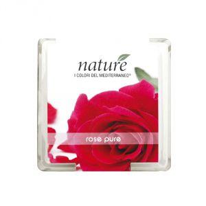 Candela profumata in vasetto di vetro - Rosa pura (150 gr.)