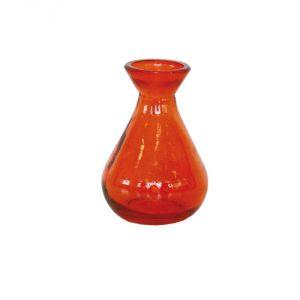 Vasetto vetro riciclato - arancione
