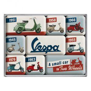 83110 Vespa - Model Chart