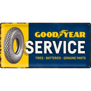 Cartello Goodyear Service