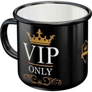 43201 Tazza in metallo Vip Only
