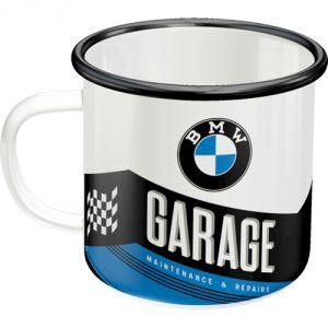 Tazza in metallo BMW Garage