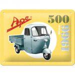 Cartello Ape 500
