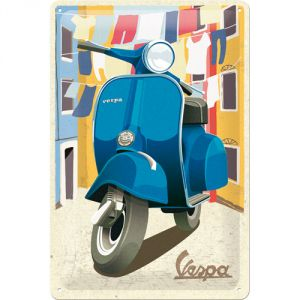 Cartello  Vespa - Italian Laundry