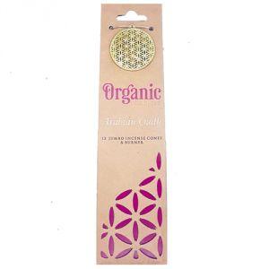 Confezione con 12 conetti di  incenso organico - Legno d'Agar