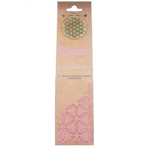 Confezione con 12 conetti di  incenso organico - Frankincense