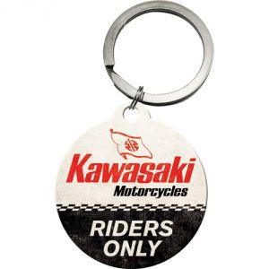 Portachiavi Kawasaki - Riders Only, 4 cm