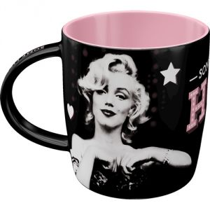 Tazza in ceramica Marylin - Some like it hot