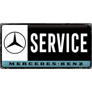 Cartello Mercedes - Service