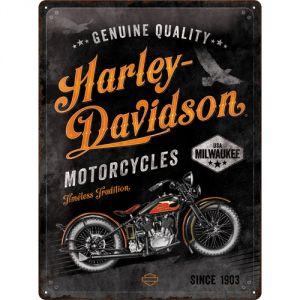 Cartello Harley Davidson Motorcycles