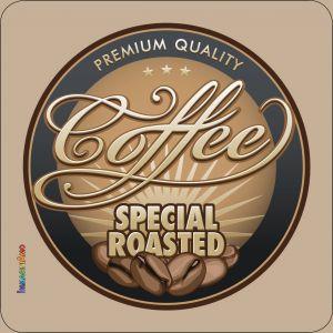 Pannello 10 x 10 cm, coffee special.