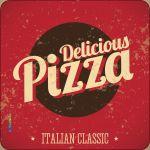 Pannello 10 x 10 cm, deliciosus pizza.