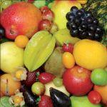 Pannello 10 x 10 cm, frutta.