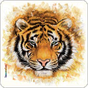 Pannello 10 x 10 cm, tigre.