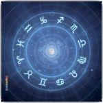 Pannello 10 x 10 cm, zodiaco.