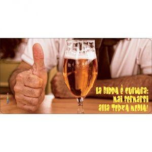 Pannello 10 x 20 cm, birra 1.