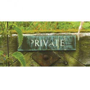 Pannello 10 x 20 cm, private.
