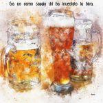 Pannello 20 x 20 cm, birra.