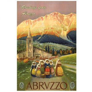 Pannello 20 x 30 cm, Abruzzo.