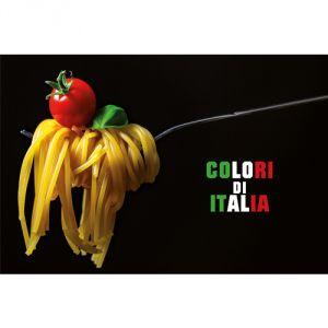 Pannello 20 x 30 cm, Colori d'Italia.