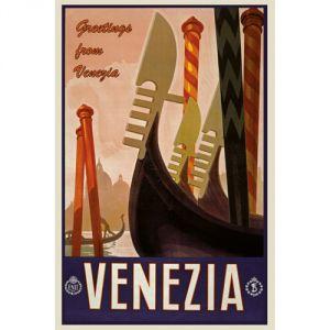 Pannello 20 x 30 cm, Venezia poster.
