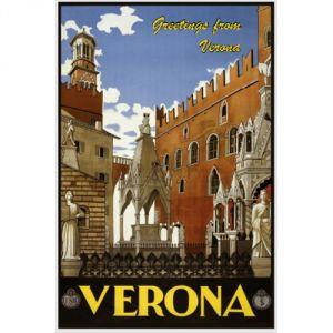 Pannello 20 x 30 cm, Verona poster.