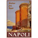 Pannello 20 x 30 cm, Napoli poster.