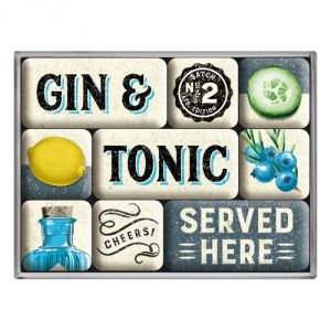 Gin & Tonic served here