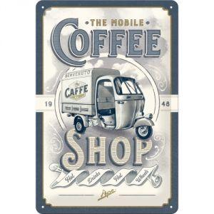 Cartello  Ape - The Mobile Coffee Shop