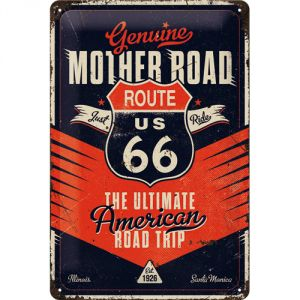 Cartello Route 66 - The Ultimate Road Trip