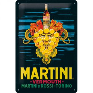 Cartello Martini - Vermouth Grapes