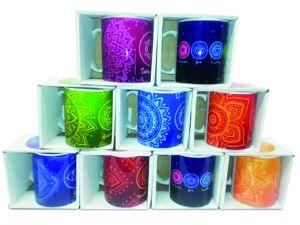 Ordine di impianto tazze dei 7 chakra