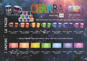 Ordine di impianto tazze e saponette dei 7 chakra
