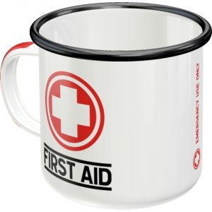 43207 Tazza in metallo First Aid