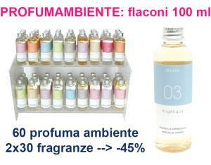60 Profuma ambiente da 100 ml : sconto 45%