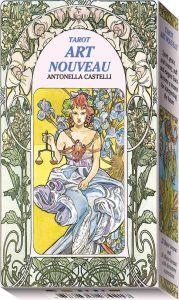 EX18 tarocchi Art Nouveau