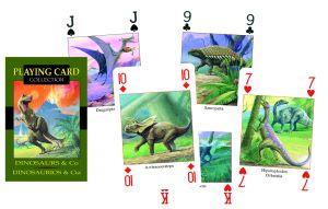PC24 Dinosauri - Playing Card