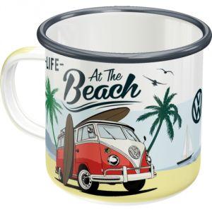 43218 Tazza in metallo VW Bulli - At the beach