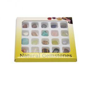 Confezione 20 pietre semipreziose