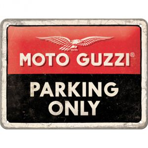 26256 Moto Guzzi - Parking Only