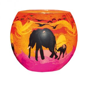 XXL102 Lampada 30 cm - Elefanti