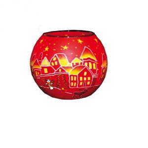 XL301E Rosso Natale - Lampada 15 cm