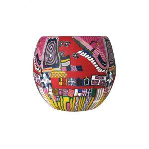 XL606E Arte Moderna Rossa - Lampada 15 cm