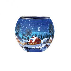 XL821E Inverno con Luna - Lampada 15 cm