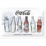 62752 XMAS SPECIAL EDITION - Snow White Bottle Evolution Coca Cola