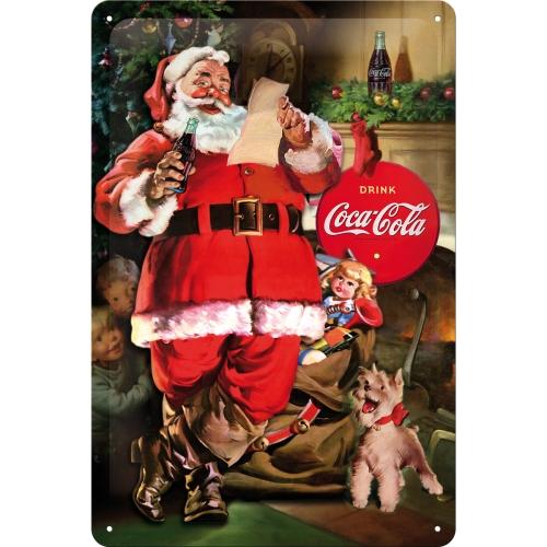 Coca Cola Babbo Natale.62754 Xmas Special Edition Coca Cola Babbo Natale Con Letterina