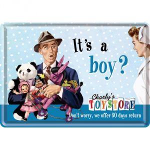 It's a boy?
